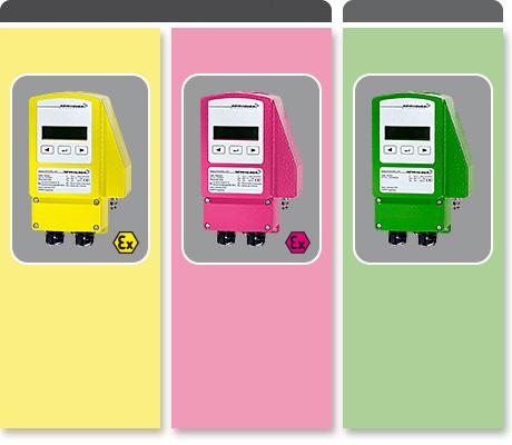Modulating sensors for temperature, humidity, pressure, differential pressure or VAV measuring